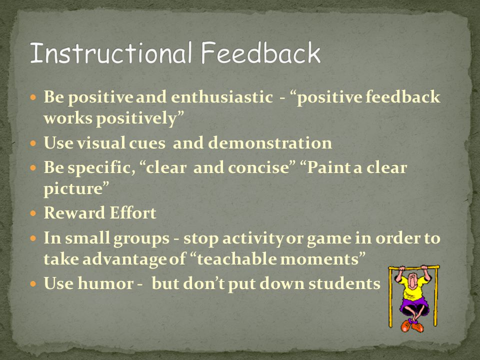 Instructional Feedback
