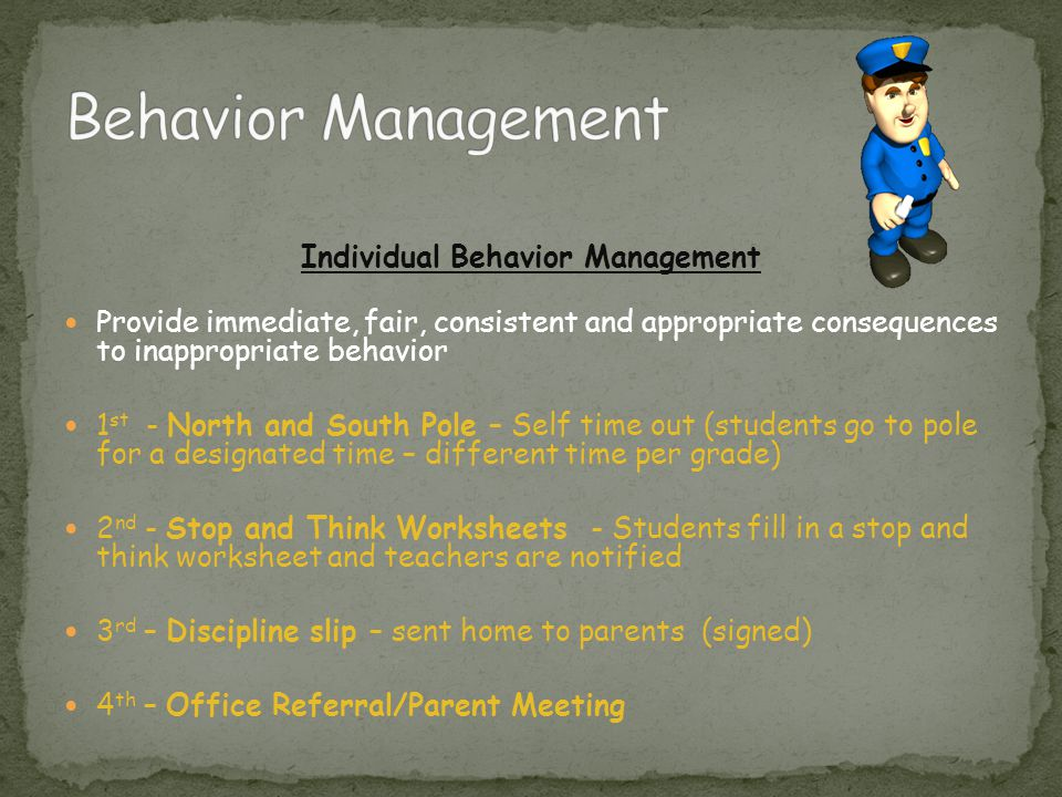 Individual Behavior Management
