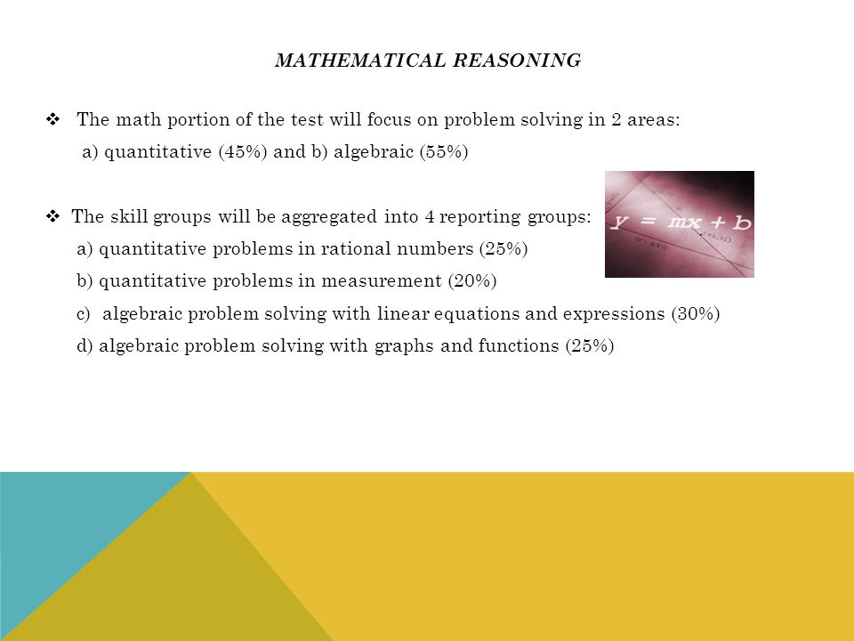 Mathematical reasoning