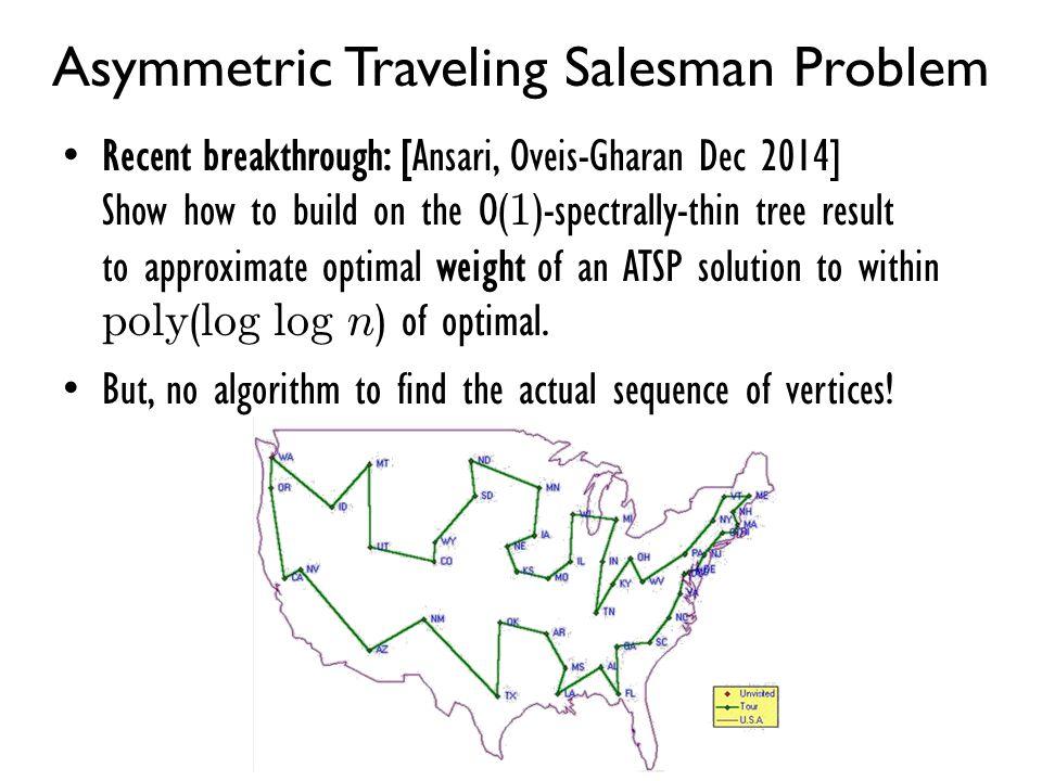 Asymmetric Traveling Salesman Problem