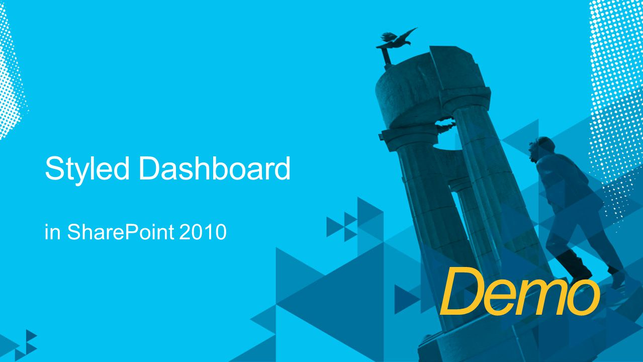 Styled Dashboard in SharePoint 2010 Demo