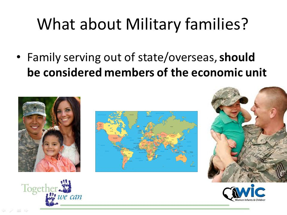 What about Military families