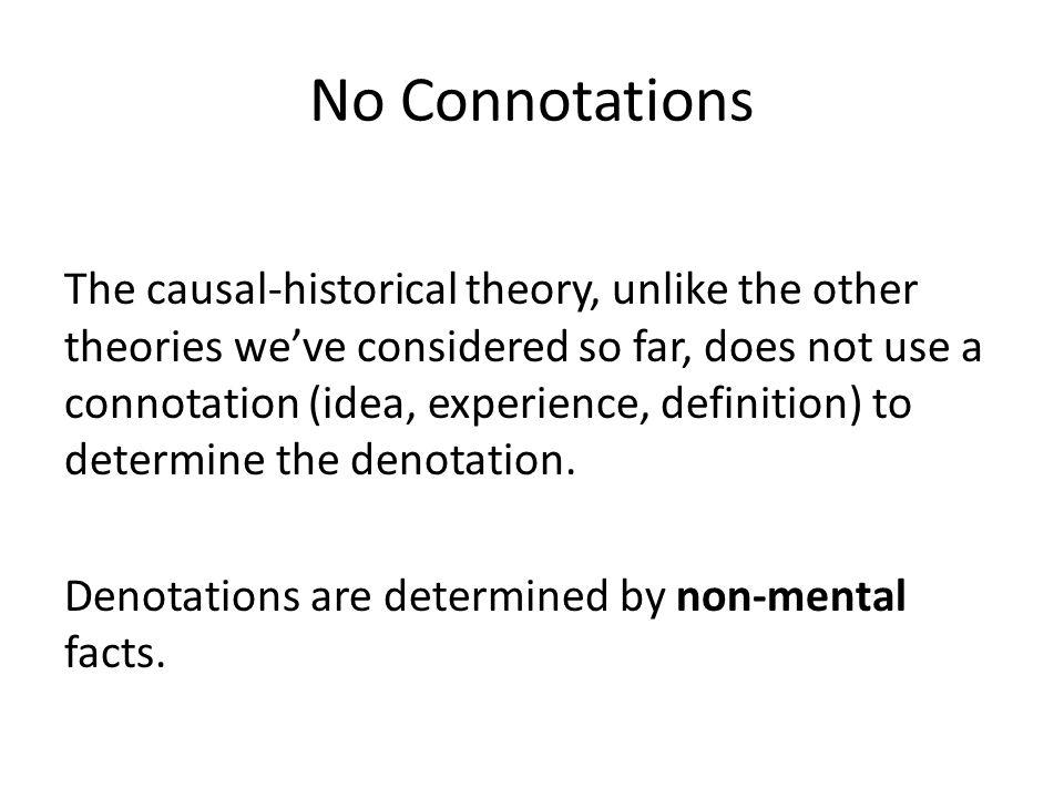 No Connotations