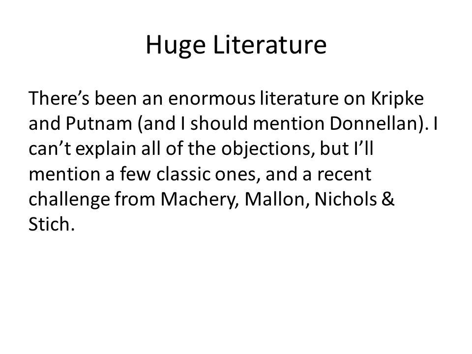 Huge Literature