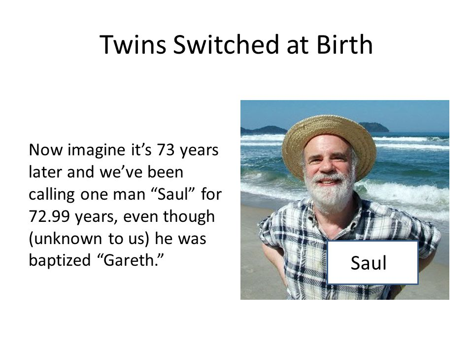 Twins Switched at Birth