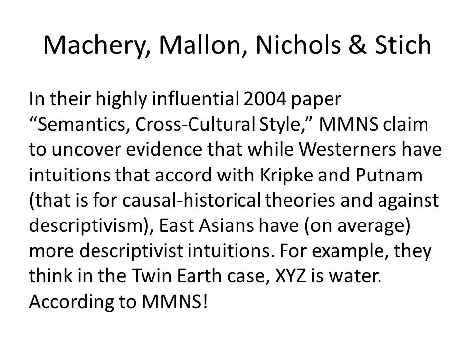 Machery, Mallon, Nichols & Stich