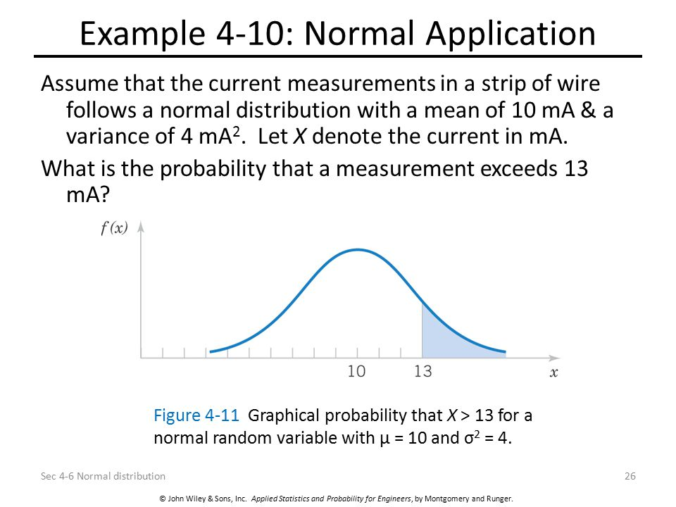 Example 4-10: Normal Application