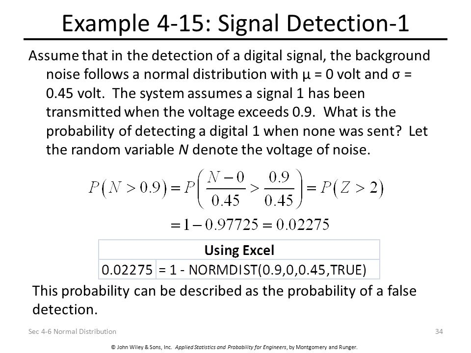 Example 4-15: Signal Detection-1