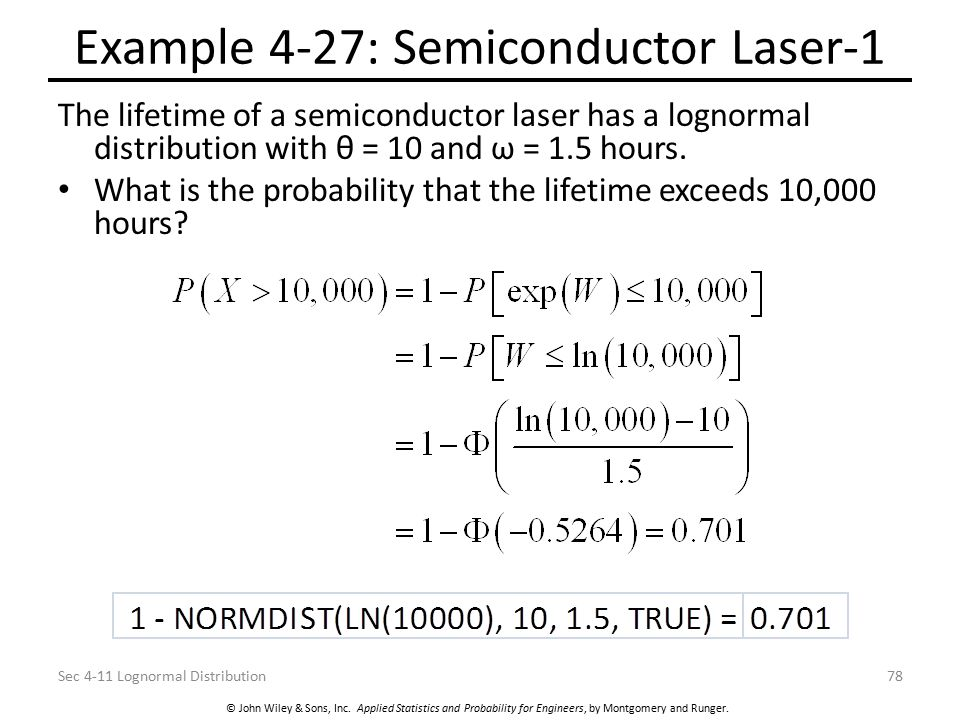 Example 4-27: Semiconductor Laser-1