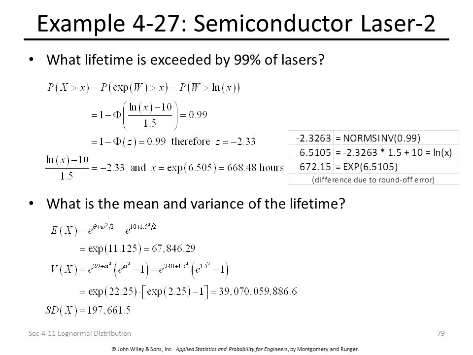 Example 4-27: Semiconductor Laser-2