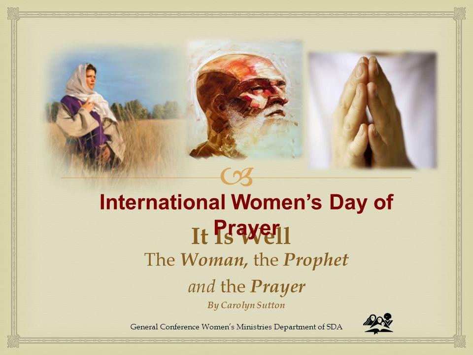 International Women's Day of Prayer