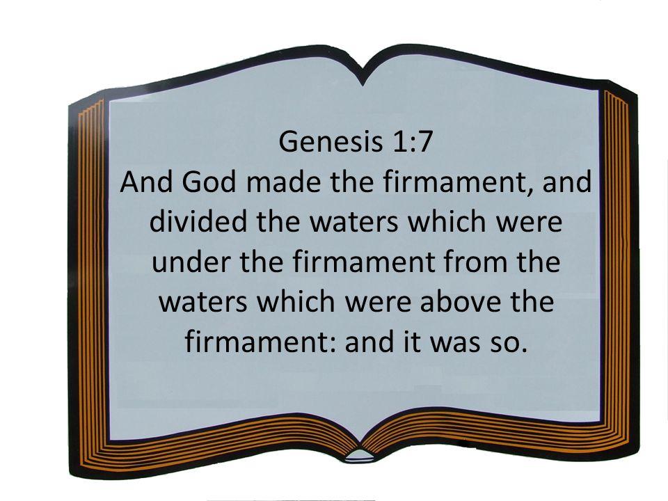 Genesis 1:7