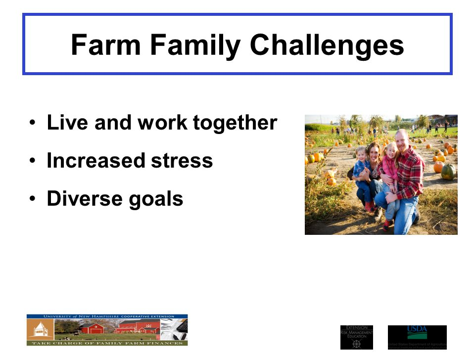 Farm Family Challenges
