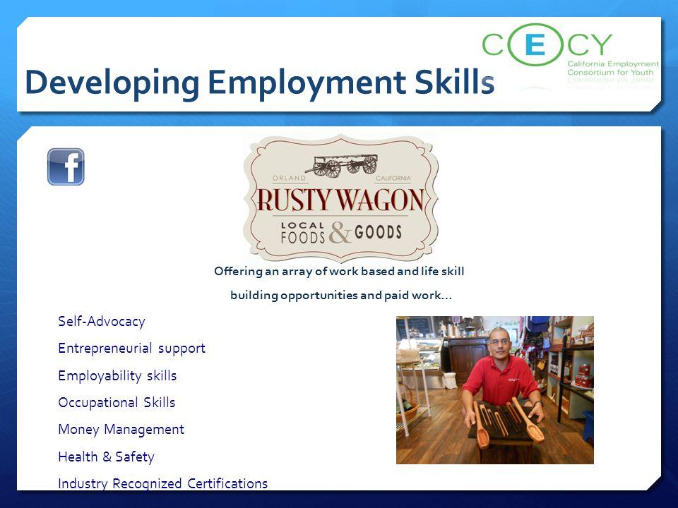 Developing Employment Skills