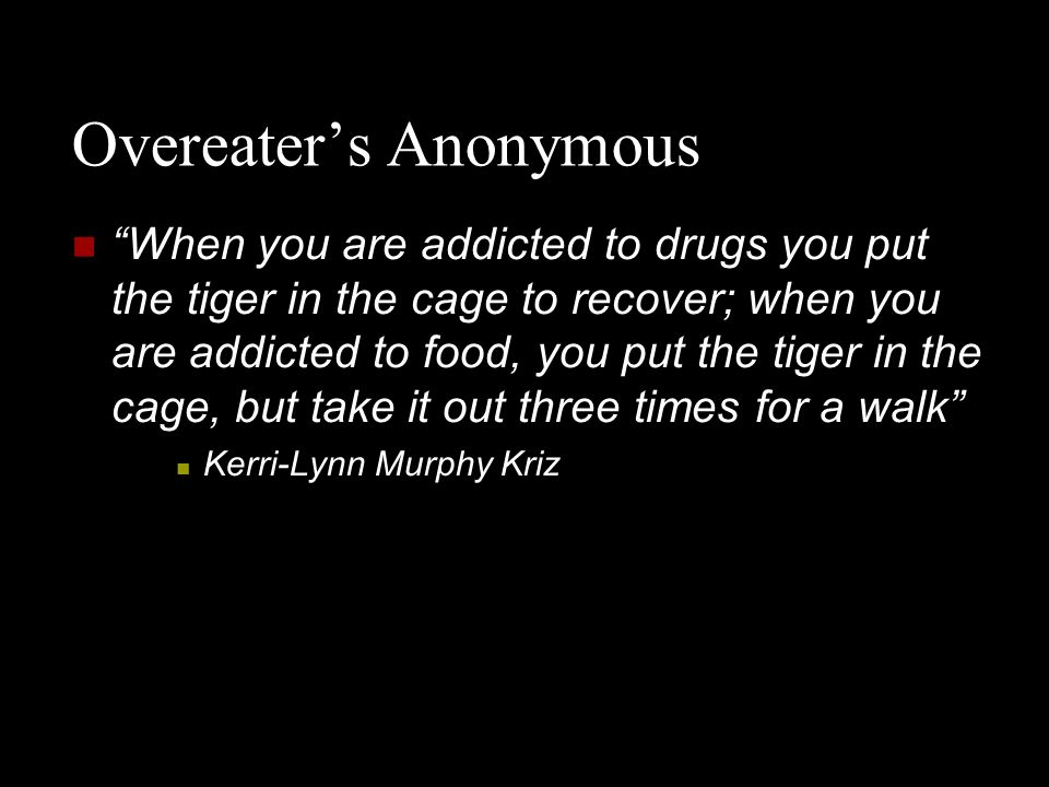 Overeater's Anonymous