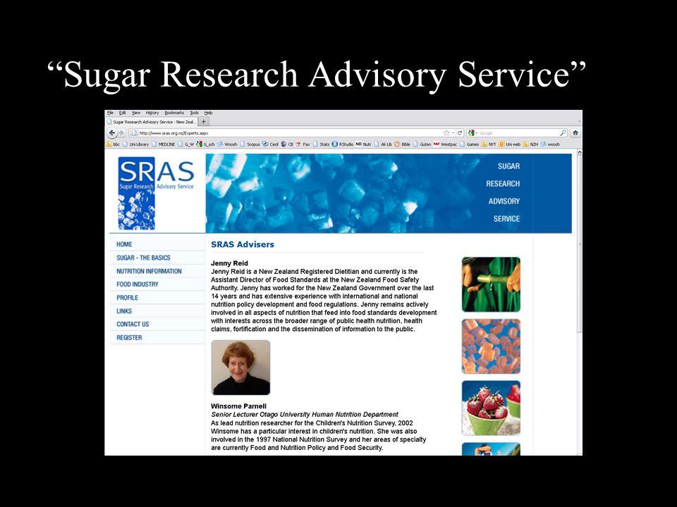 Sugar Research Advisory Service