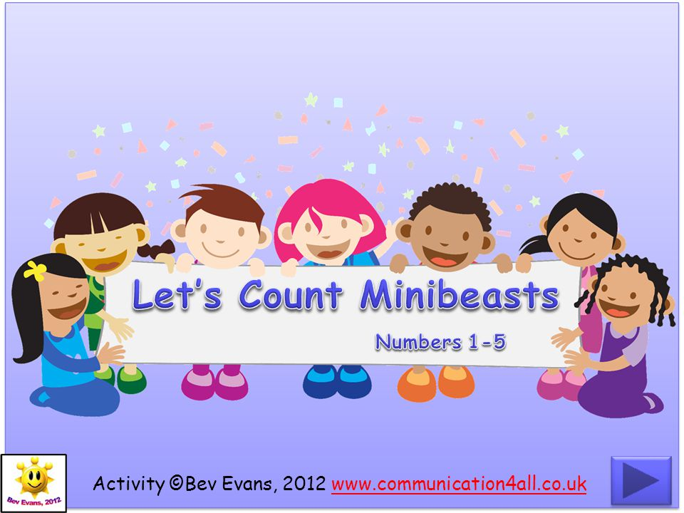 Let's Count Minibeasts