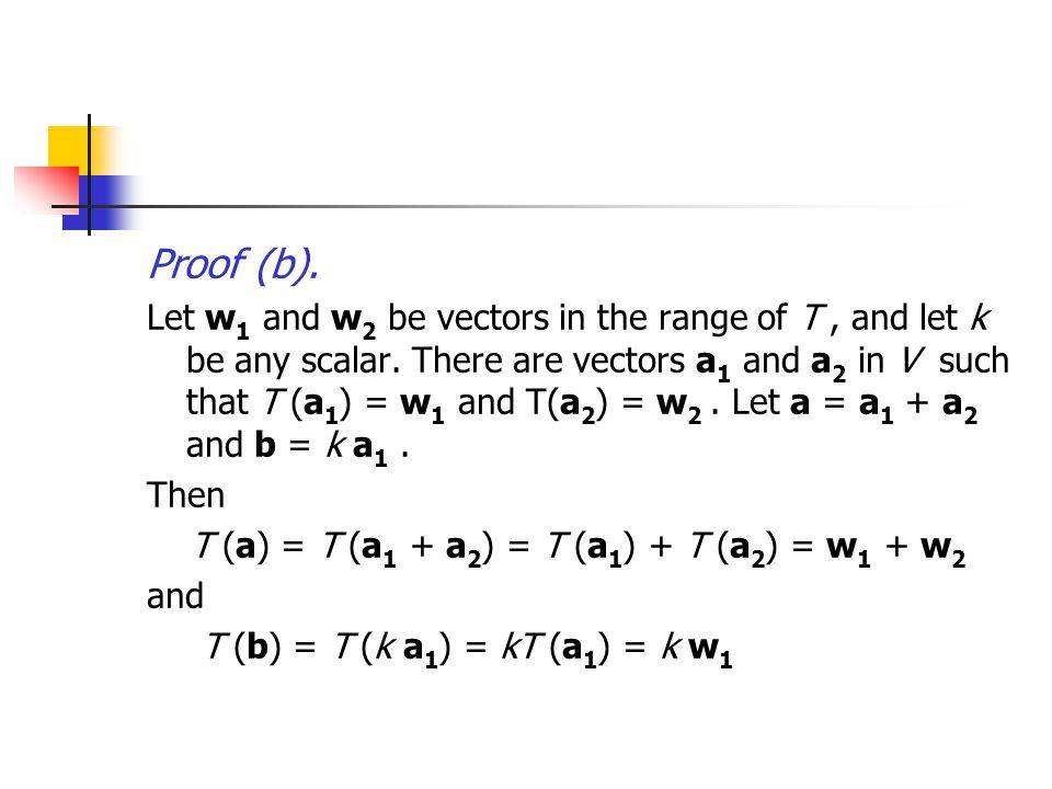 Proof (b).