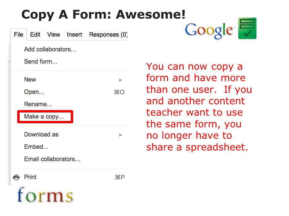 Copy A Form: Awesome!