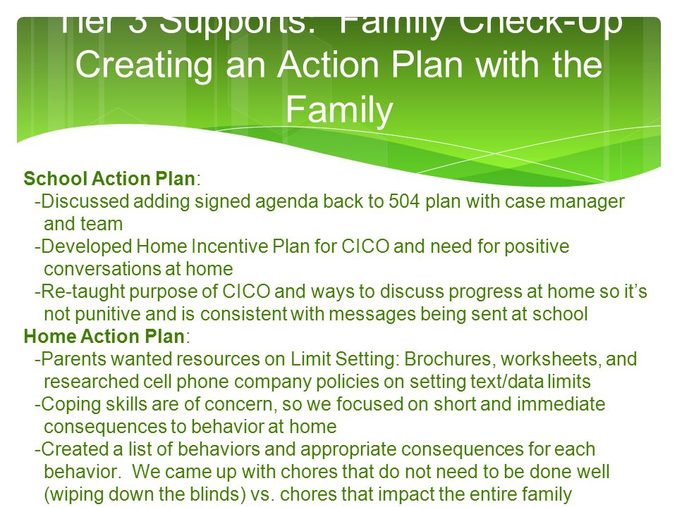 Next Steps PFS Promoting The Family Resource Center