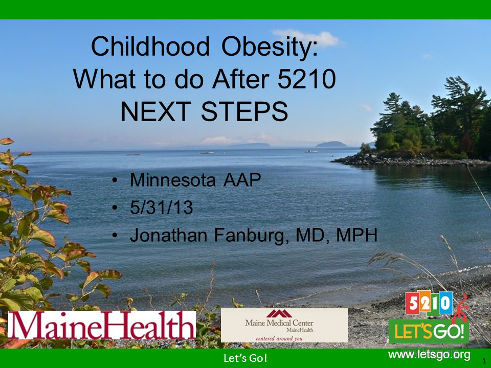 Childhood Obesity: What to do After 5210 NEXT STEPS