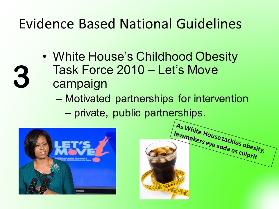 Evidence Based National Guidelines