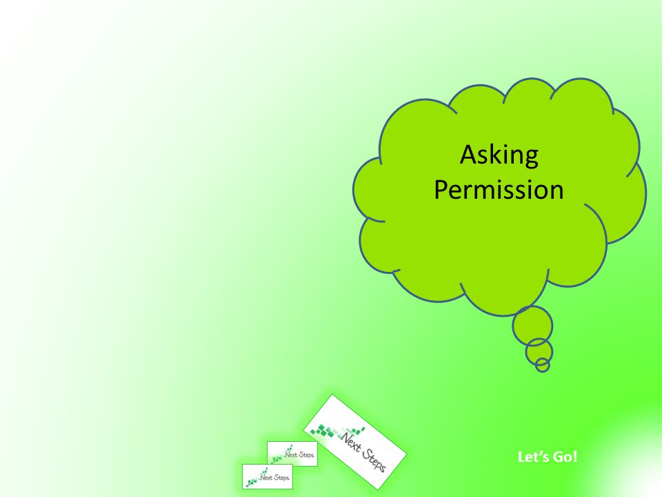 Asking Permission