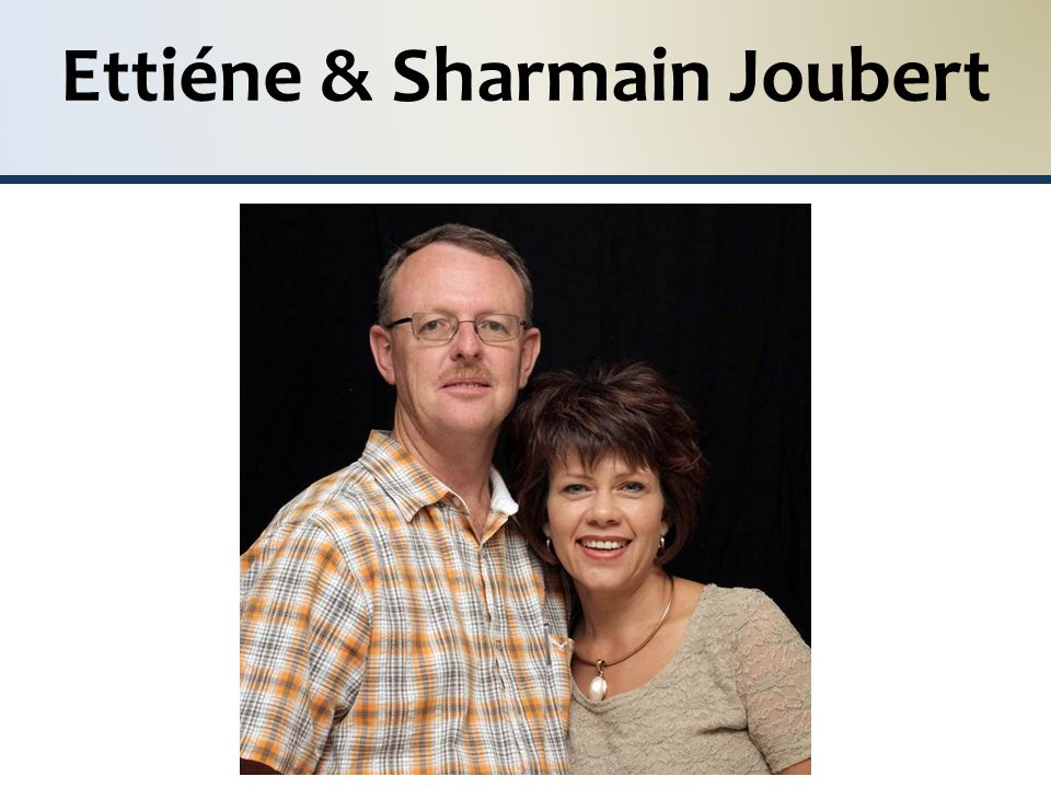Ettiéne & Sharmain Joubert