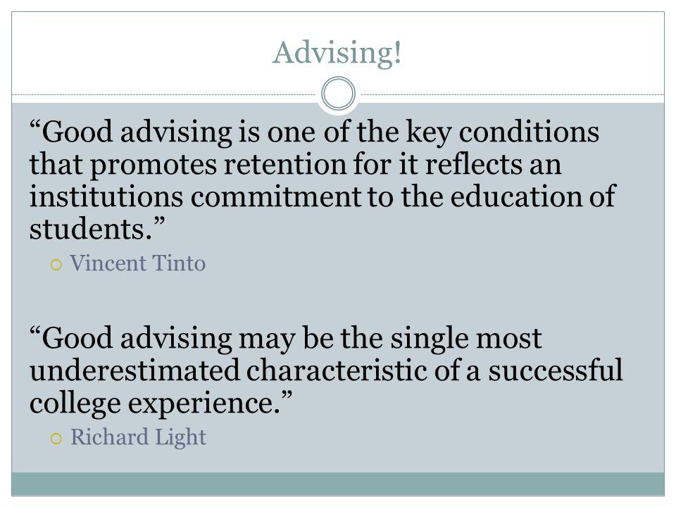 Advising!