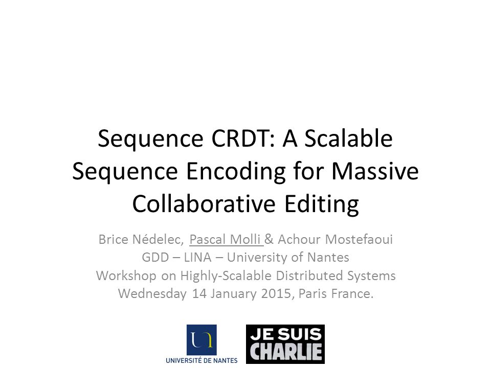 Sequence CRDT: A Scalable Sequence Encoding for Massive Collaborative Editing
