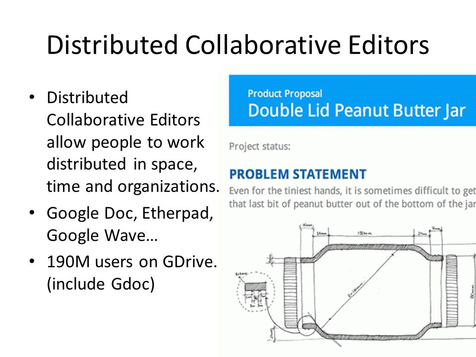 Distributed Collaborative Editors