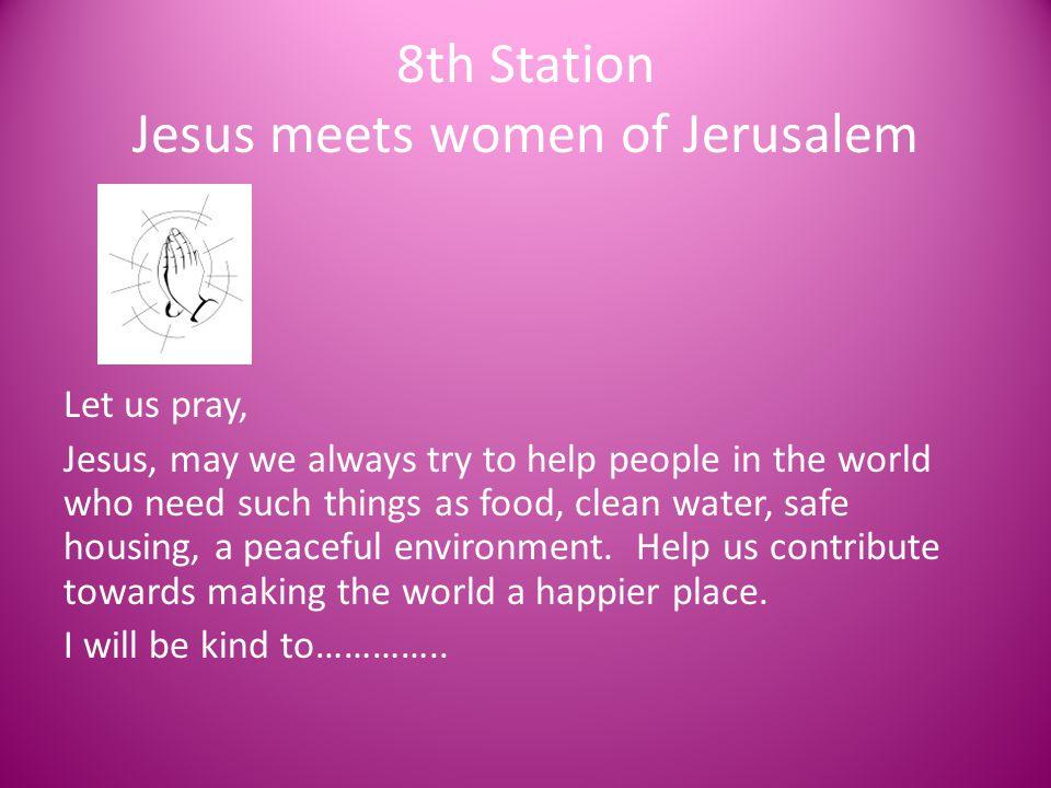 8th Station Jesus meets women of Jerusalem