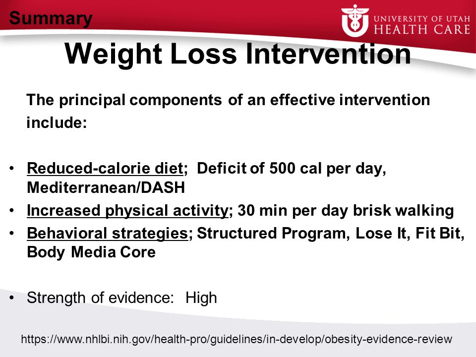 Weight Loss Intervention