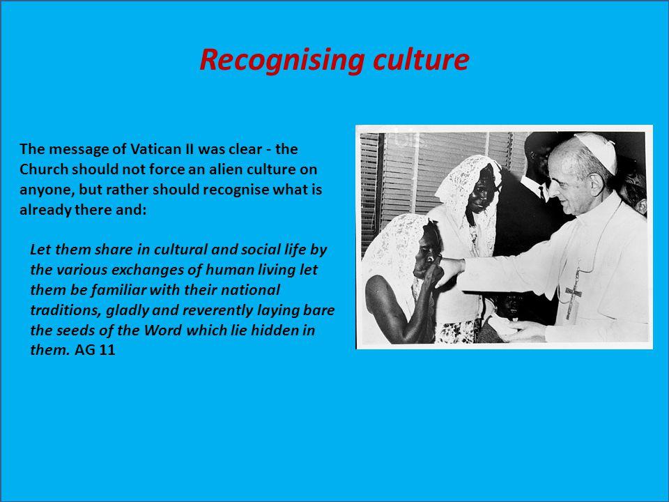 Recognising culture