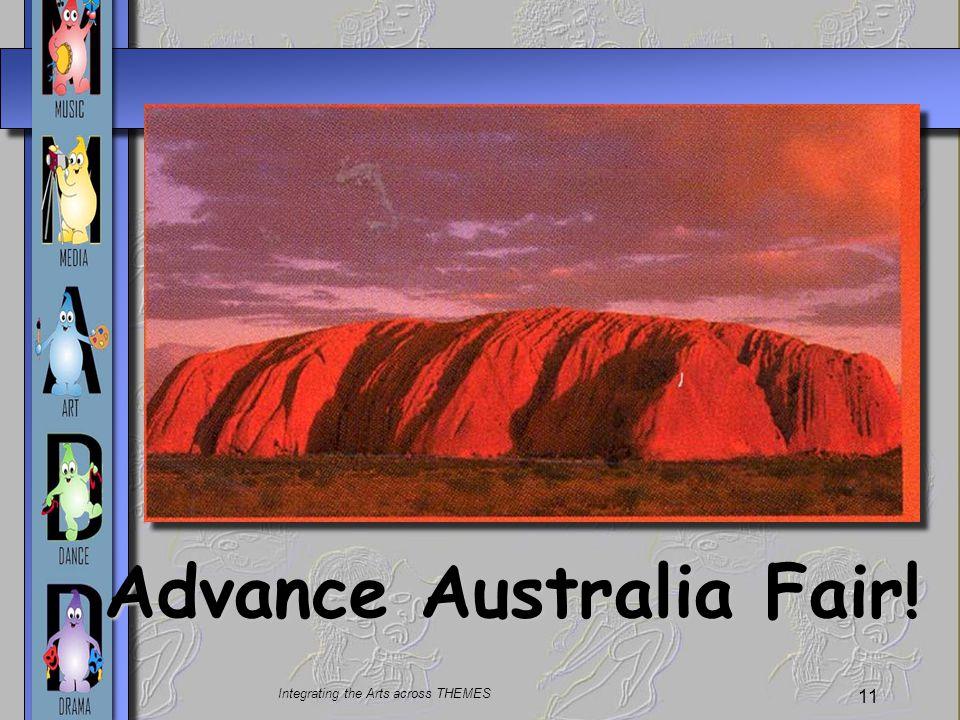 Advance Australia Fair!