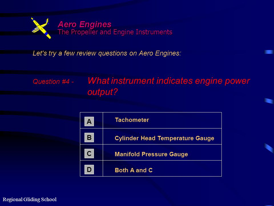 Aero Engines The Propeller and Engine Instruments