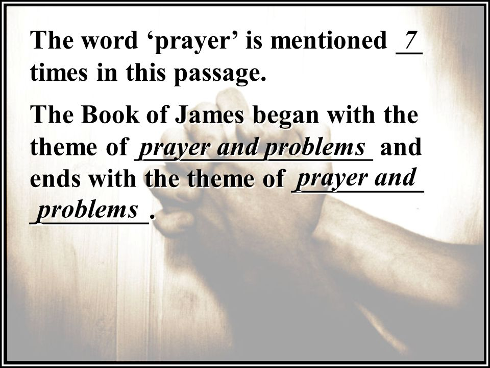 The word 'prayer' is mentioned __ times in this passage.