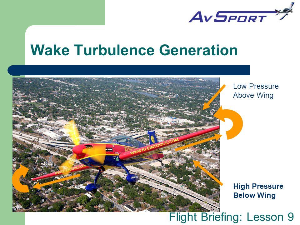 Wake Turbulence Generation
