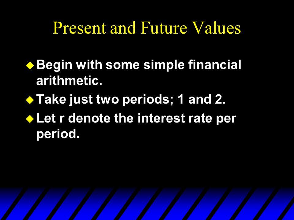 Present and Future Values