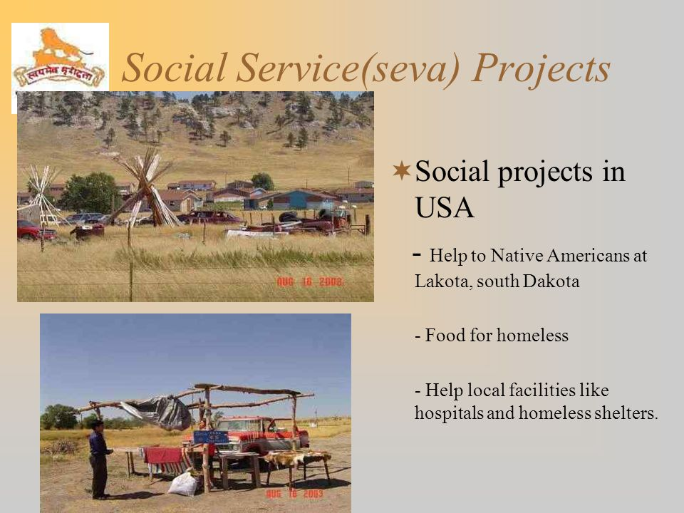 Social Service(seva) Projects