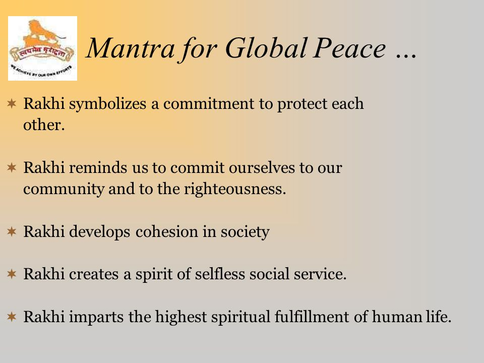 Mantra for Global Peace …