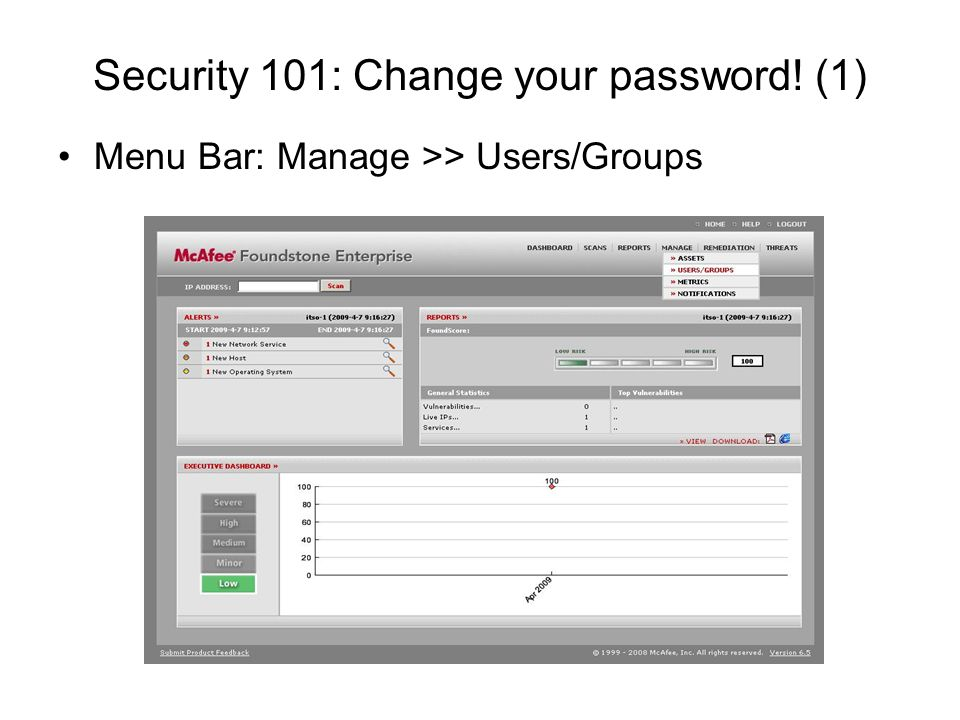 Security 101: Change your password! (1)
