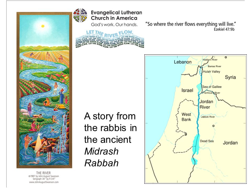 A story from the rabbis in the ancient Midrash Rabbah