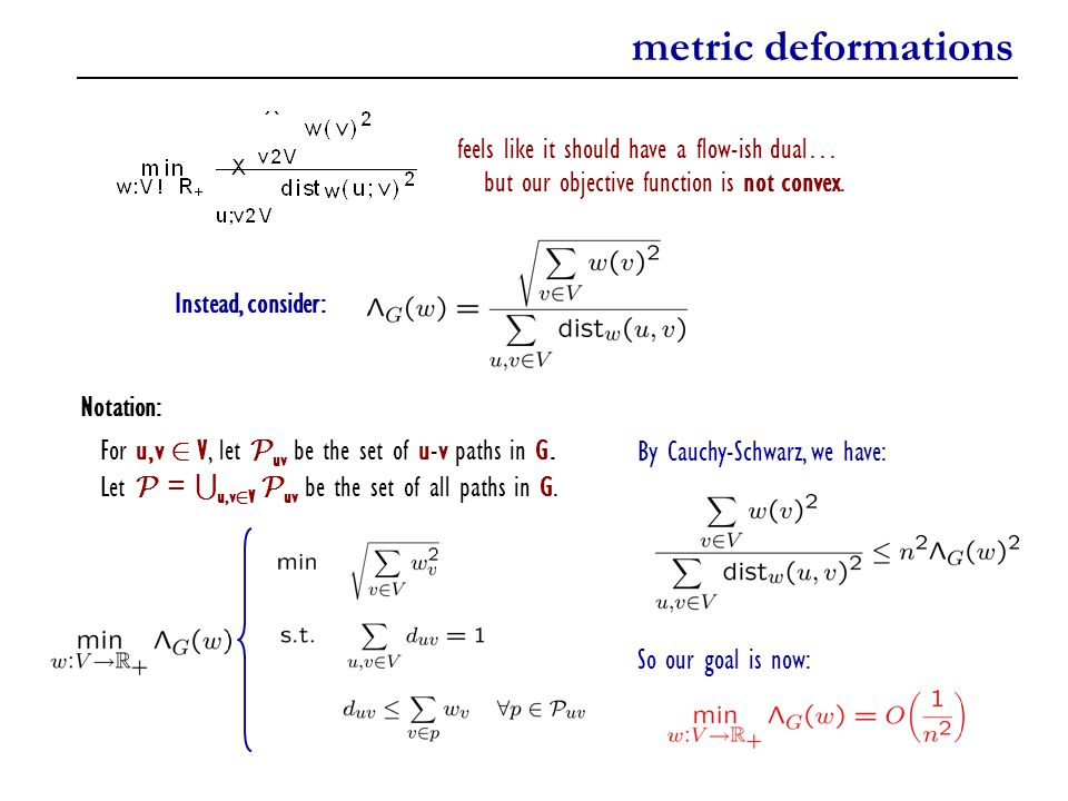 metric deformations feels like it should have a flow-ish dual…
