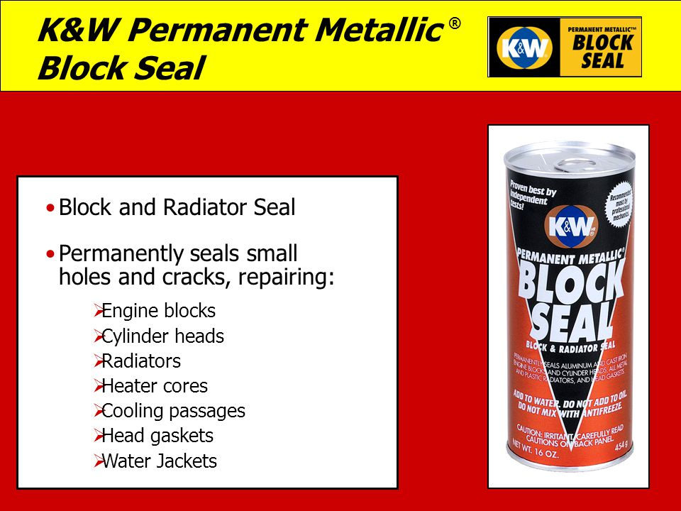 Kw Permanent Metallic Block Seal Ppt Video Online Download
