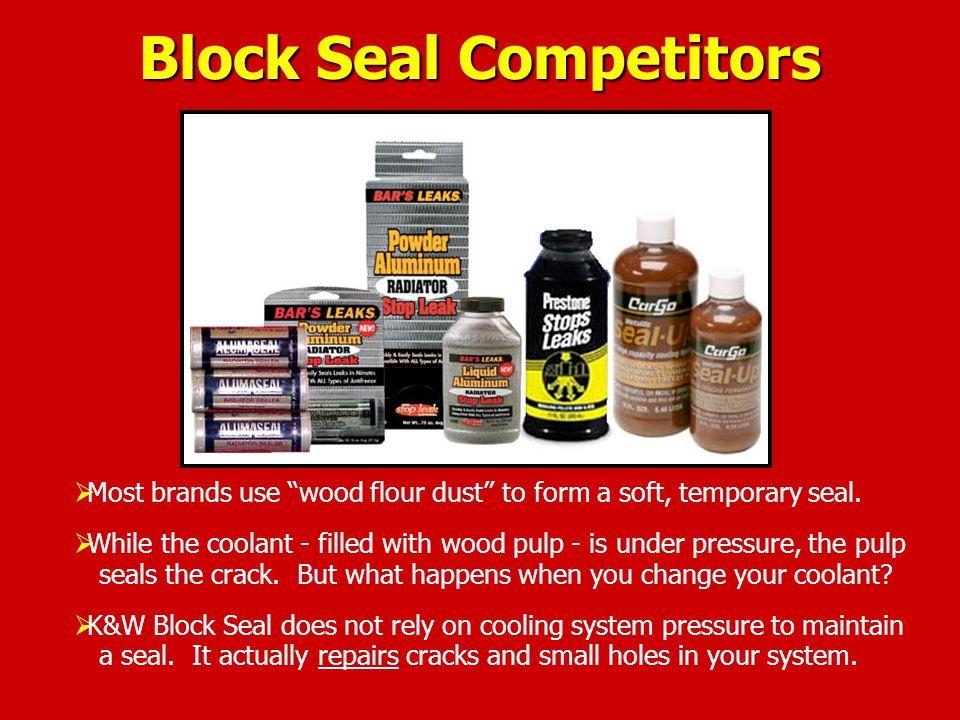 Block Seal Competitors