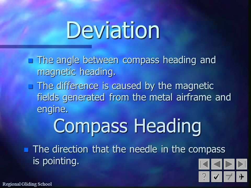 Deviation Compass Heading