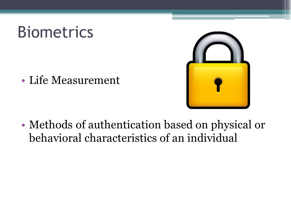 Biometrics Life Measurement