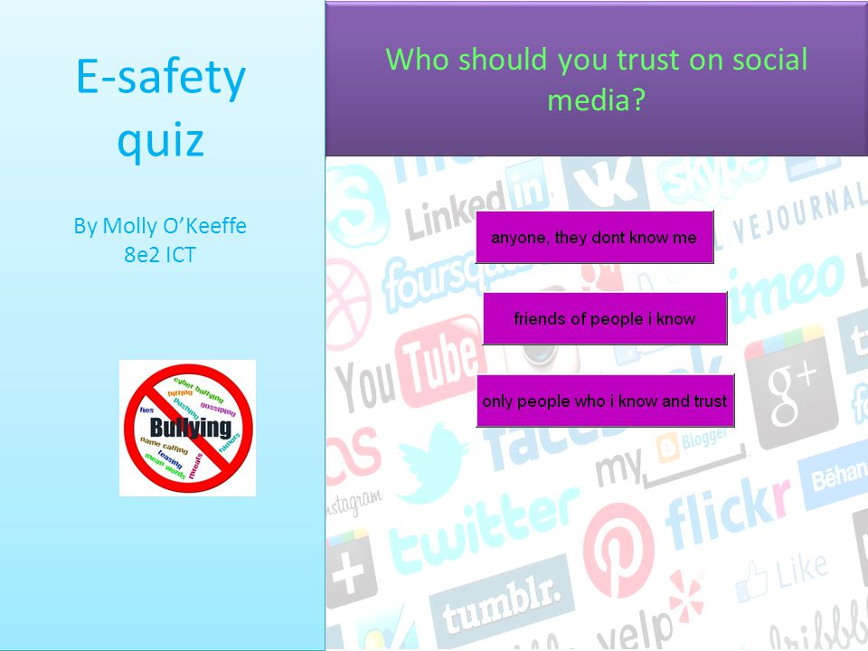 Who should you trust on social media