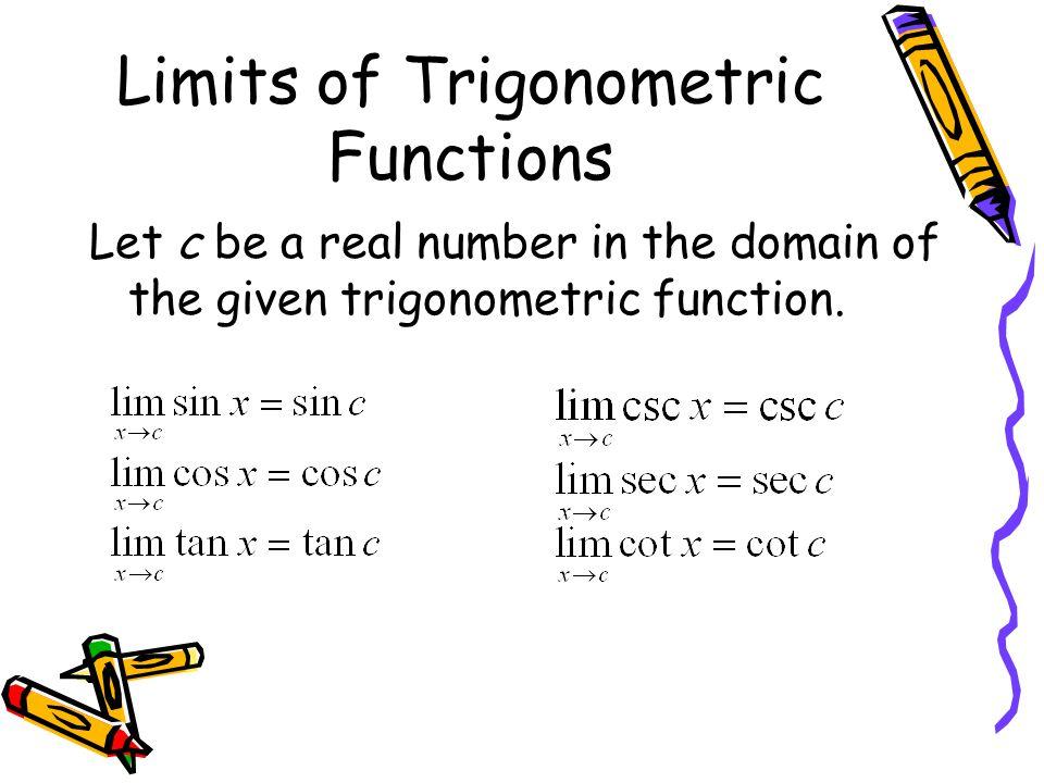 Limits of Trigonometric Functions